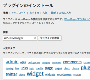 WP DBManager