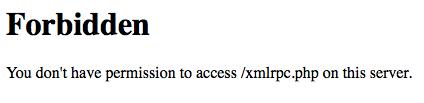 アクセス不可能